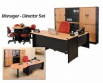 Meja Kantor Manager Direktur Set