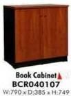 Book Cabinet BCR040107 Seri Venus OLYMPIC