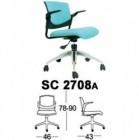 Kursi Staff & Sekretaris Chairman  SC 2708 A