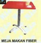 Meja Makan RIO MEJA MAKAN FIBER 60×60 + KAKI