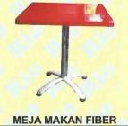 Meja Makan RIO MEJA MAKAN FIBER 80×80 + KAKI