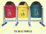 Tempat Sampah Rio TS 50 G Triple