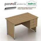 Meja Kantor Modera Powell 1050 Plus Laci