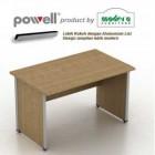 Meja Kantor Modera Powell 1275 tanpa laci