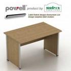 Meja Kantor Modera Powell 1675 tanpa laci
