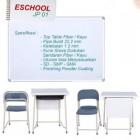 Meja Siswa dan Kursi Siswa Eschool Jp01