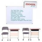 Meja Siswa dan Kursi Siswa Eschool Jp07