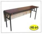 Meja Lipat Resto Cafe HPL Tipe HK-64 45 x 180 cm