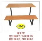 Meja Resto Cafe PVC Tipe HK-65 180×100 cm