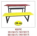 Meja Resto Cafe PVC Tipe HK-66 120×150 cm