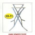 Kaki meja kantin kafe restoran HK-91 Powder untuk daun meja 120x80cm