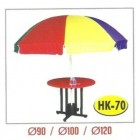 Meja Payung Resto Cafe Outdoor Tipe HK-70 Dia. 120 cm