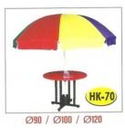 Meja Payung Resto Cafe Outdoor Tipe HK-70 Dia. 100 cm
