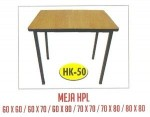 Meja Resto Cafe HPL Tipe HK-50 80×80