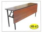 Meja Lipat Resto Cafe HPL Tipe HK-62 60 x 160 cm