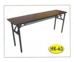 Meja Lipat Resto Cafe HPL Tipe HK-63 60 x 140 cm