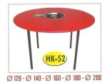Meja Suki Lacker Bulat HK-52 + Kompor Dia.180 cm