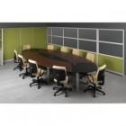 Meja meeting oval Modera MT 4420 MH